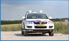 Dutch Police Touareg and KLM.