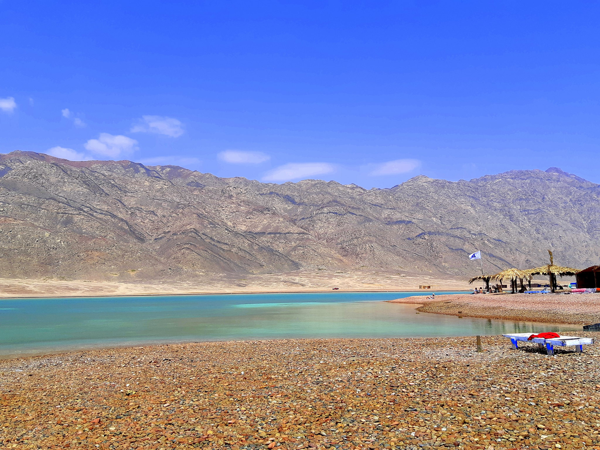 the blue lagoon near dahab