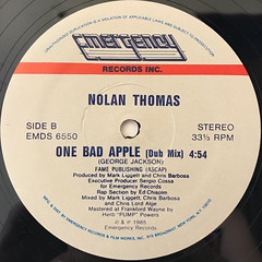 NOLAN THOMAS:ONE BAD APPLE(LABEL SIDE-B)