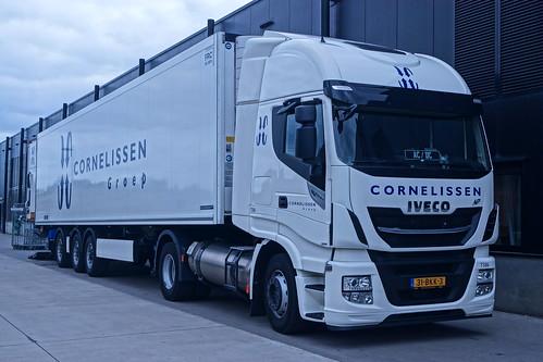 Iveco Stralis Hi-Way NP AS IIII LNG E6 400 2018 - Cornelissen Groep Logistiek B.V. T586 Nijmegen, Provincie Gelderland, Holland