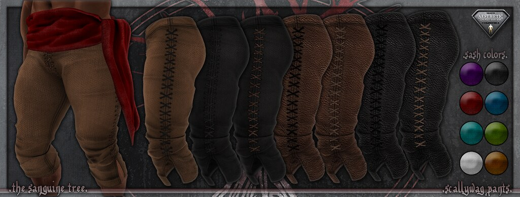 [ new release – scallywag pants ]