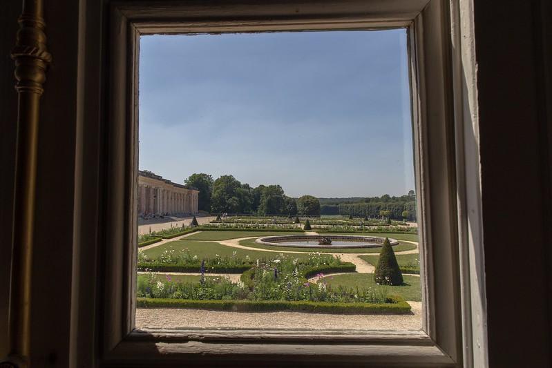 Blick in die Gärten.