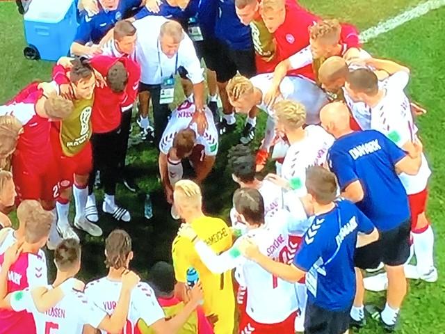 Croatia 1 - 1 Denmark (3 - 2 penalties)