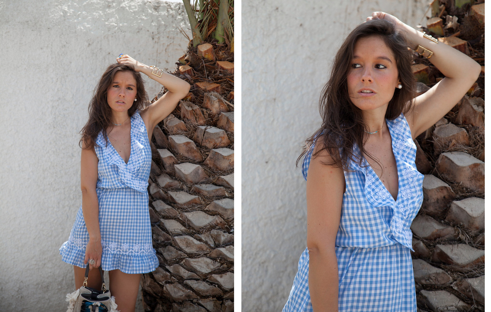 09_Revolve_dress_tularosa_gingham_style_outfit_theguestgirl_influencer_barcelona_spain_inspiration_look_summer
