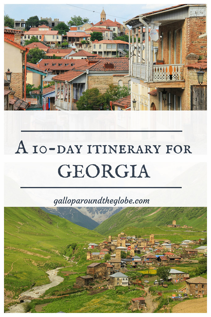 A 10-Day Itinerary for Georgia by Public Transport | Gallop Around The Globe