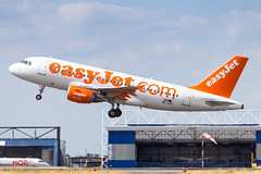 LIL - Airbus A319-111 (OE-LKH) EasyJet Europe
