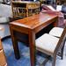 Solid console table E120