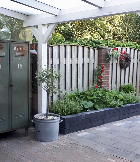 Tuin landelijke stijl