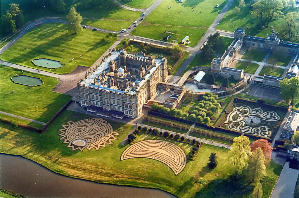 Longleat Aerial View. Credit sleuth@73