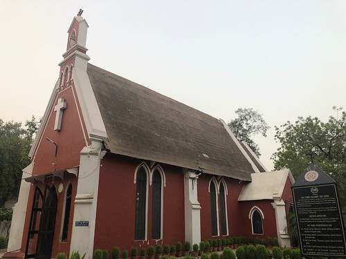 City Monument - The Church of Epiphany, Civil Lines, Gurgaon