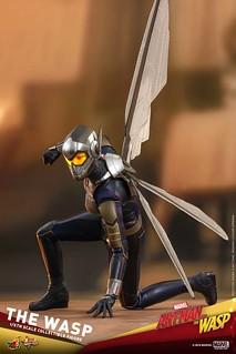 「我有翅膀,為什麼我要用走的?」Hot Toys – MMS498 -《蟻人與黃蜂女》黃蜂女 The Wasp 1/6 比例人偶作品
