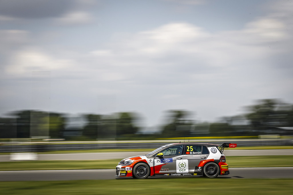 25 BENNANI Mehdi (mar), Volkswagen Golf GTI TCR team Sebastien Loeb Racing, action during the 2018 FIA WTCR World Touring Car cup race of Slovakia at Slovakia Ring, from july 13 to 15 - Photo Jean Michel Le Meur / DPPI