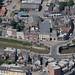Town Bridge over the River Nene in Wisbech - Cambridgeshire aerial