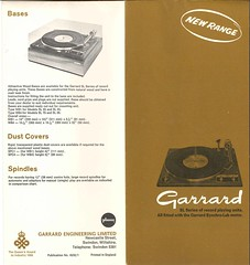 Garrard New SL Ranged
