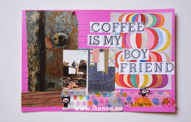 Index Card Collage 13 June 2018 by iHanna aka Hanna Andersson #ihannasICAD #dyICAD2018