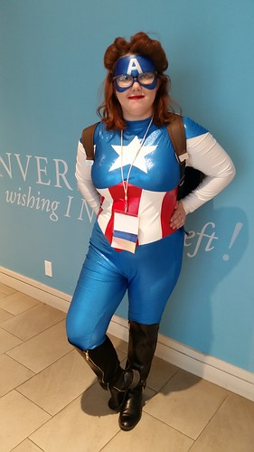 Captain America at Westercon