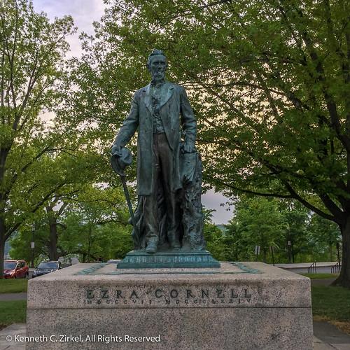 Statue of Ezra Cornell, Cornell University
