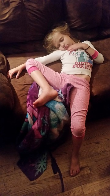 Kids Sleeping in Funny Positions