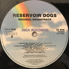 V.A.:RESERVOIR DOGS(LABEL SIDE-B)