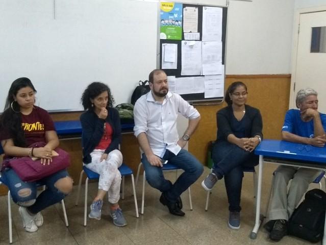 Nossa EJA recebeu os alunos do curso de Pedagogia da UFMG