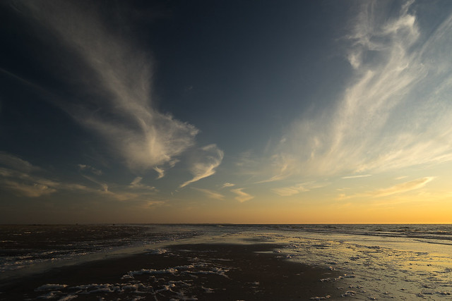 Wind, Clouds, Sea and Sand / Langeoog