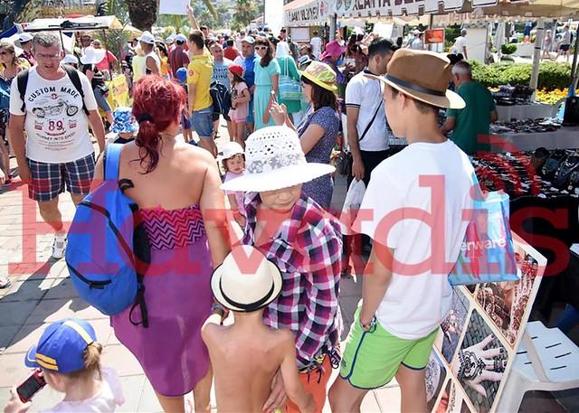 Turizm ve Sanat Festivali'nde standlar dolup taştı