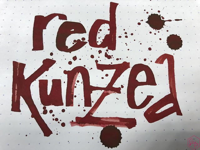 Blackstone Red Kunzea Ink Review @Appelboom 10