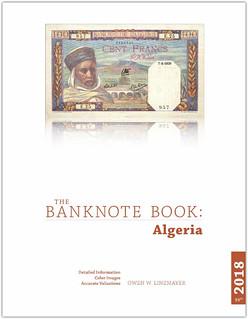 Banknote Book Algeria book cover