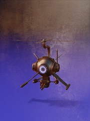 Steampunk Helicopter