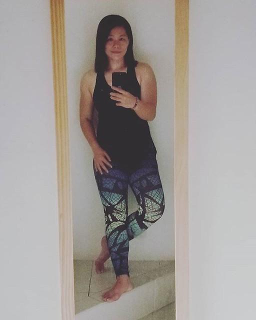 20180703 第589堂課 空中瑜伽 #有運動沒在怕的 #運動使人開心 #40歲以後找回自己 #喜歡自己拍自己