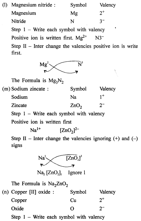 New Simplified Chemistry Class 8 Icse Solutions Language Of