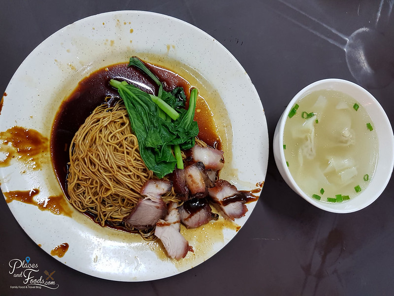 sg besi wantan mee noodle and wonton