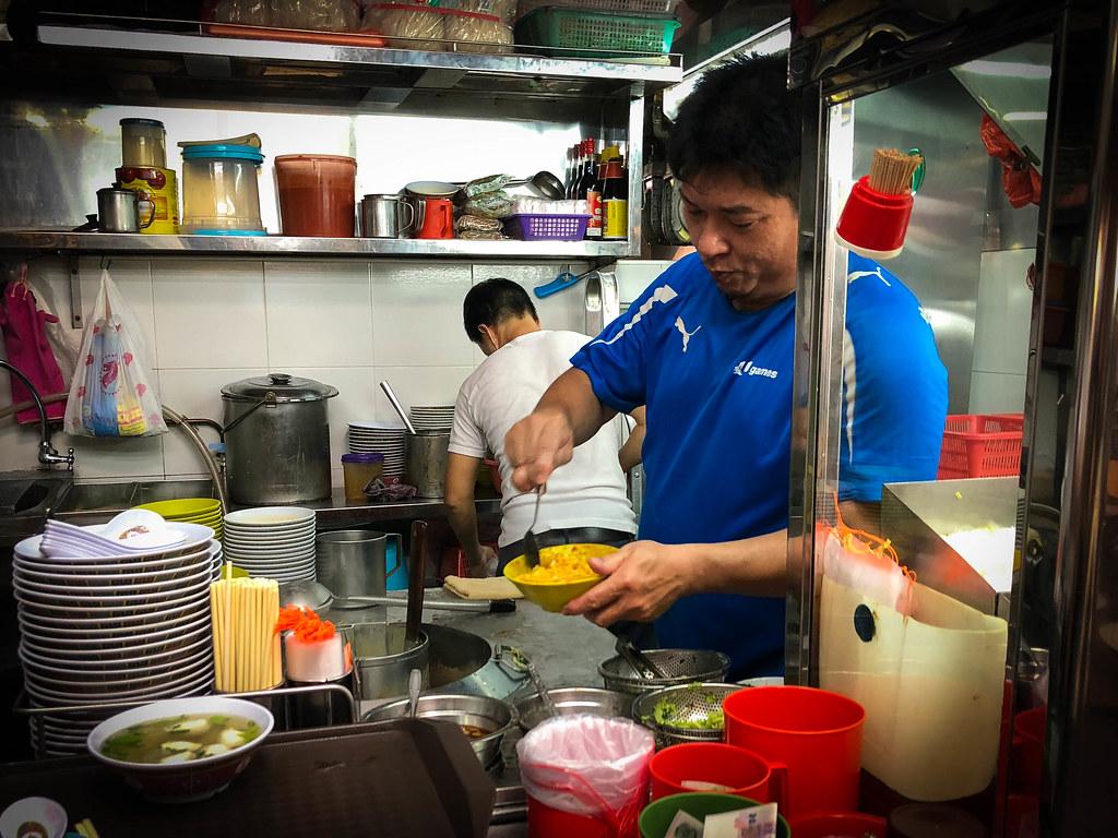 Hock Seng Choon behind the scenes