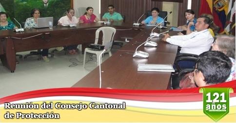 Reunión del Consejo Cantonal de Protección