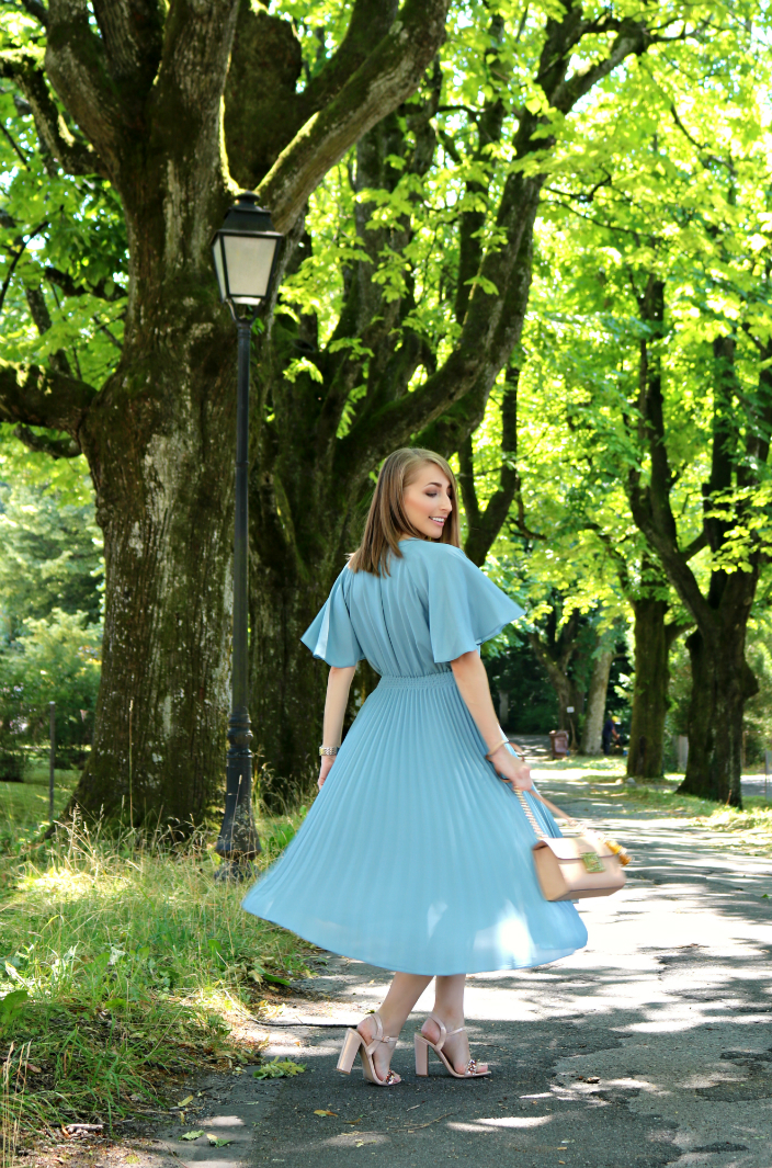 pleated summer dress (07b)