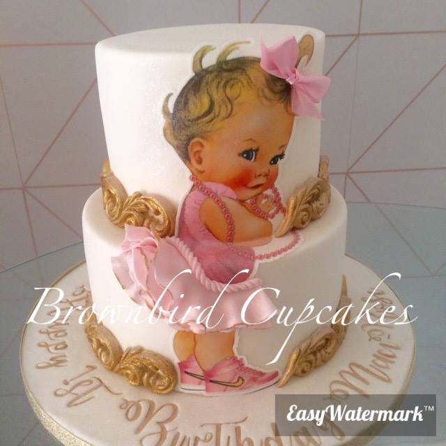 Baby Cake by Brownbird Cupcakes London