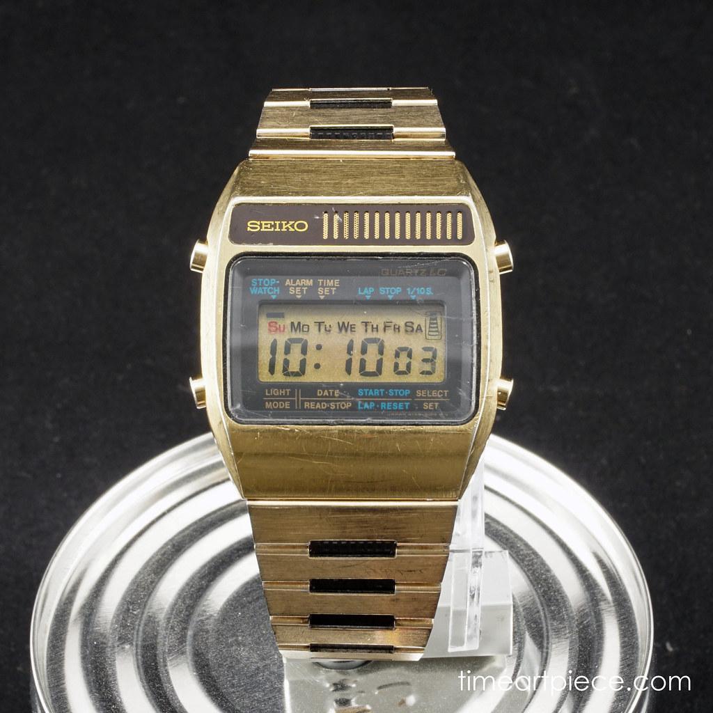 Seiko A159-5019 gold