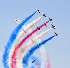 Amazing Red Arrows.