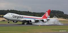 LX-VCN Cargolux Airlines International Boeing 747-8R7F (CLX772) arrivi