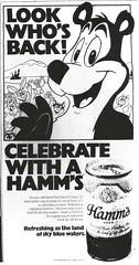 Hamm's Bear, 1978
