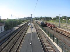 Estació de Ribesaltes - Línia de Perpinyà - Photo of Cases-de-Pène