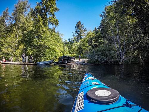 Paddling Lake Padden