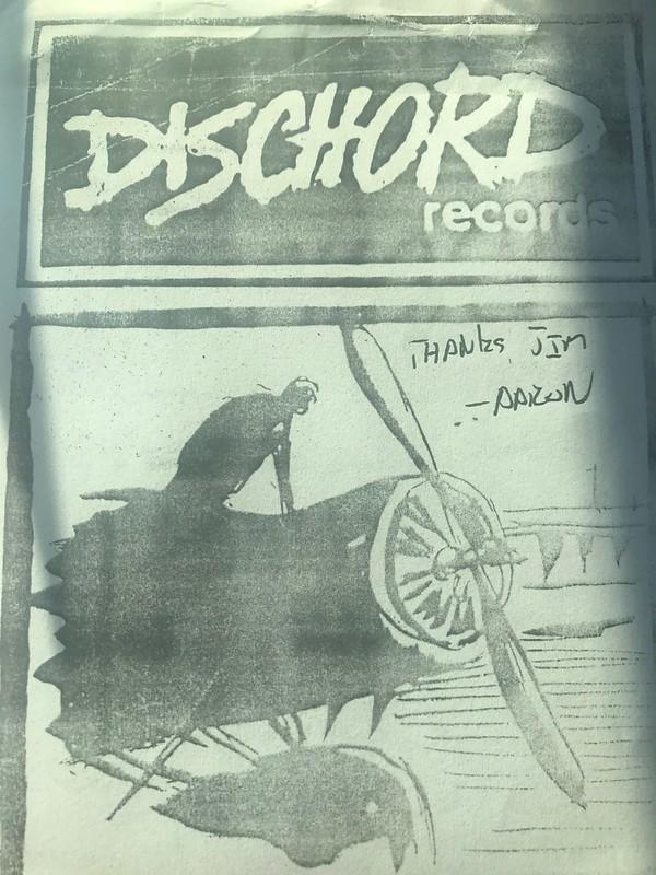 Dischord Notes