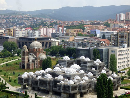 kosovo pristina europe balkans streetscenes