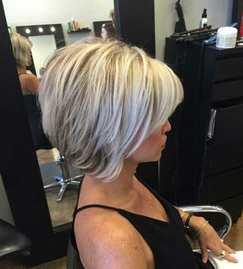 Classy Short Bob Haircuts 2018 For Women -Whatever shape your face? 5