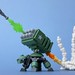 Turtle with Missile Launcher by Legoloverman