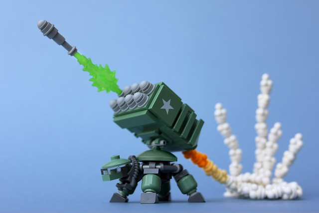 Turtle with Missile Launcher