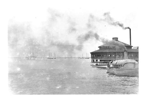 Early 1900's Harbor Photo - 6x9 print