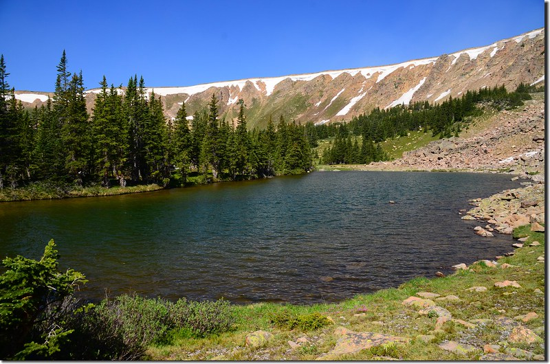 The unnamed lake #1 at the upper reaches of Current Creek (7)