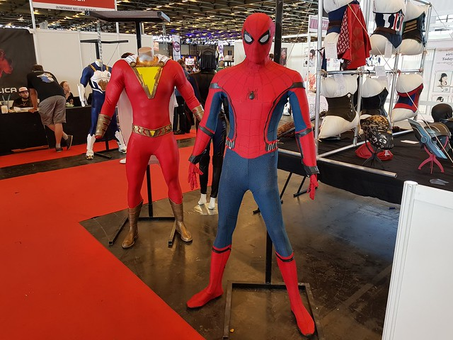 Japan Expo 2018 - Expositions Cosplay